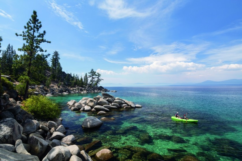The best way to experience Lake Tahoe