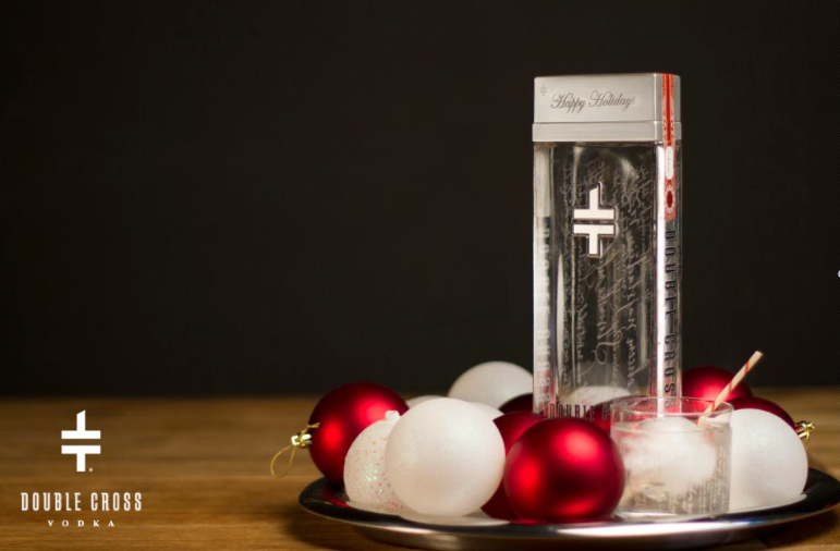 Holiday Cocktails with Ciroc and Double Cross Vodka