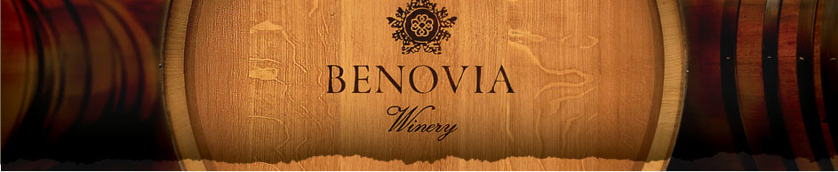 Benovia Winery Barrel