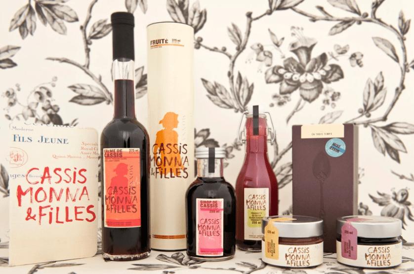 Products of Cassis Monna et Filles