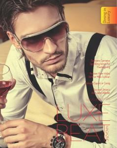 Luxe Beat Magazine November 2015 Cover