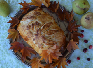 Harry and David Turkey And Apple Cranberry Walnut stuffing En Croute