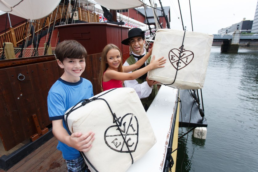 Boston Tea Party Ships & Museum. Kids