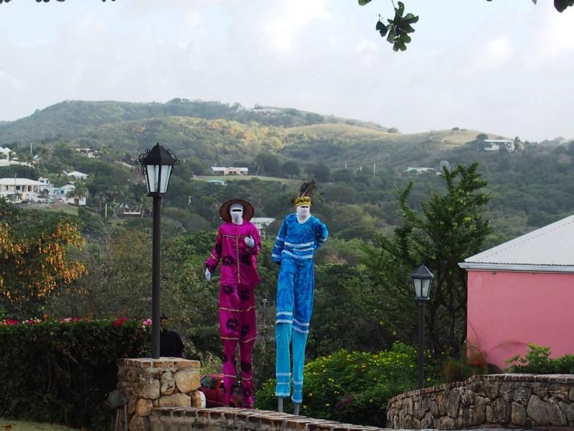 Moko Jumbie Stilt Dancers
