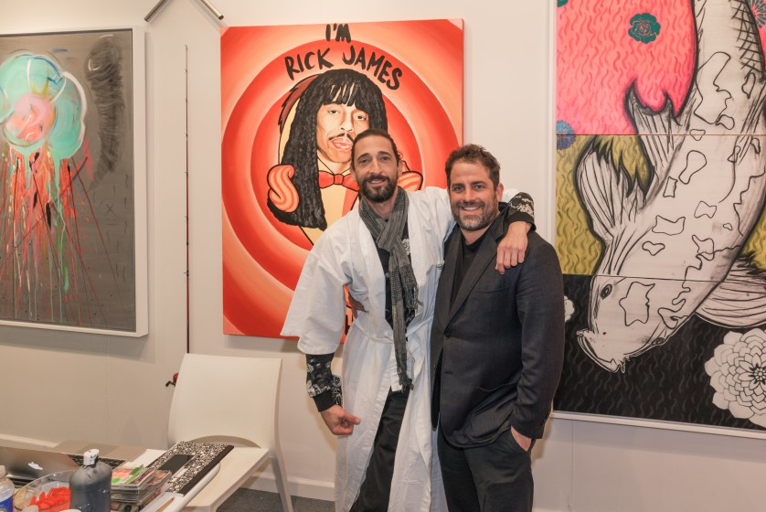 Adrien Brody, Brett Ratner Photo Credit Annie Watt