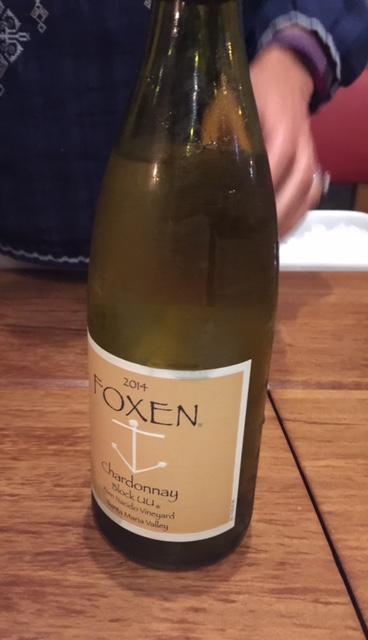 Foxen Santa Barbara Chardonnay