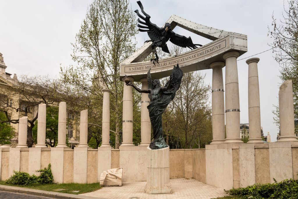 War Memorial in Budapest.