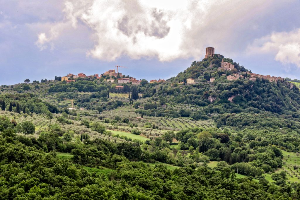 Walk to nearby Bagno Vignoni or hike to the hilltop castle.
