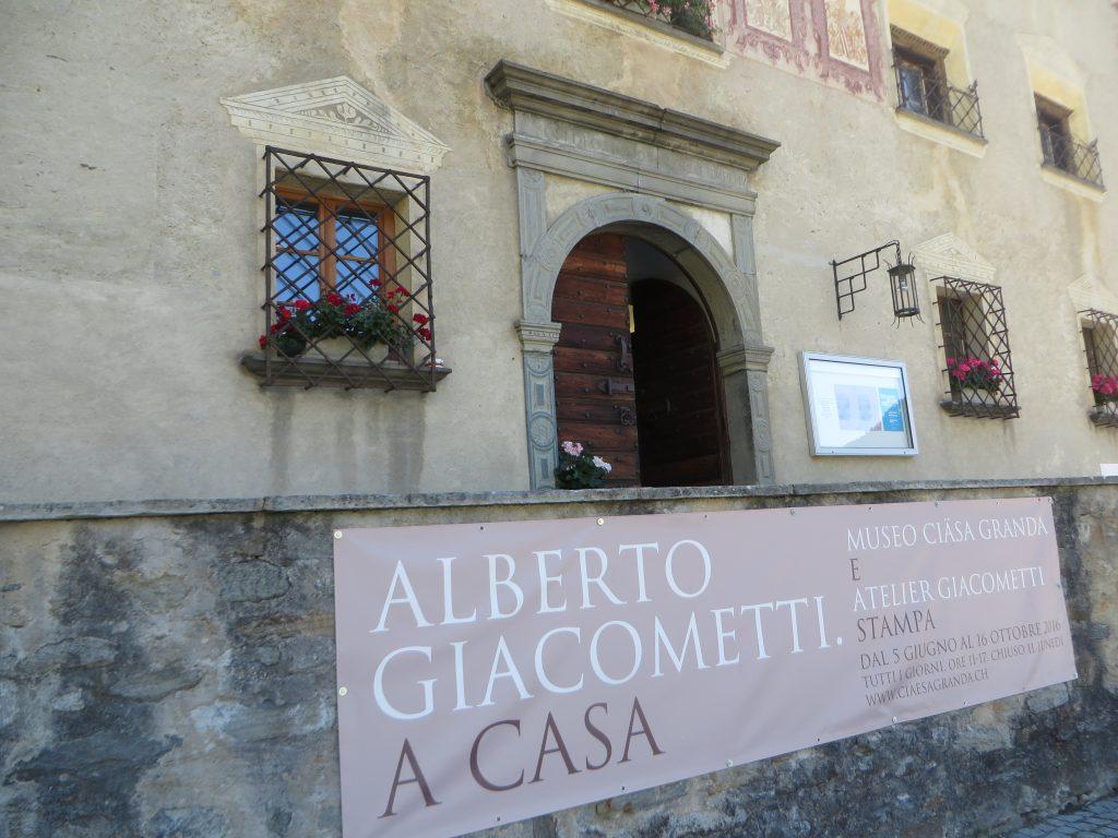 A Giacometti Pilgrimage