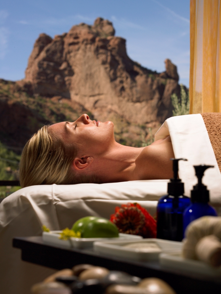 Sanctuary on Camelback Mountain spa service