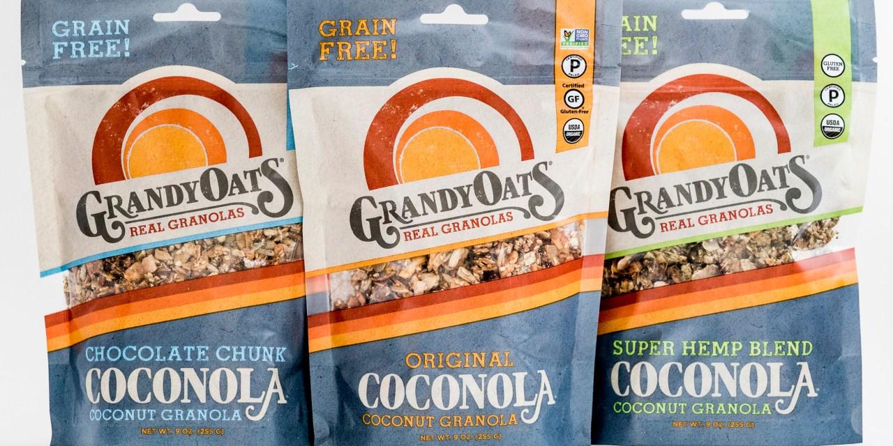 Paleo, Coconut Granola From GrandyOats