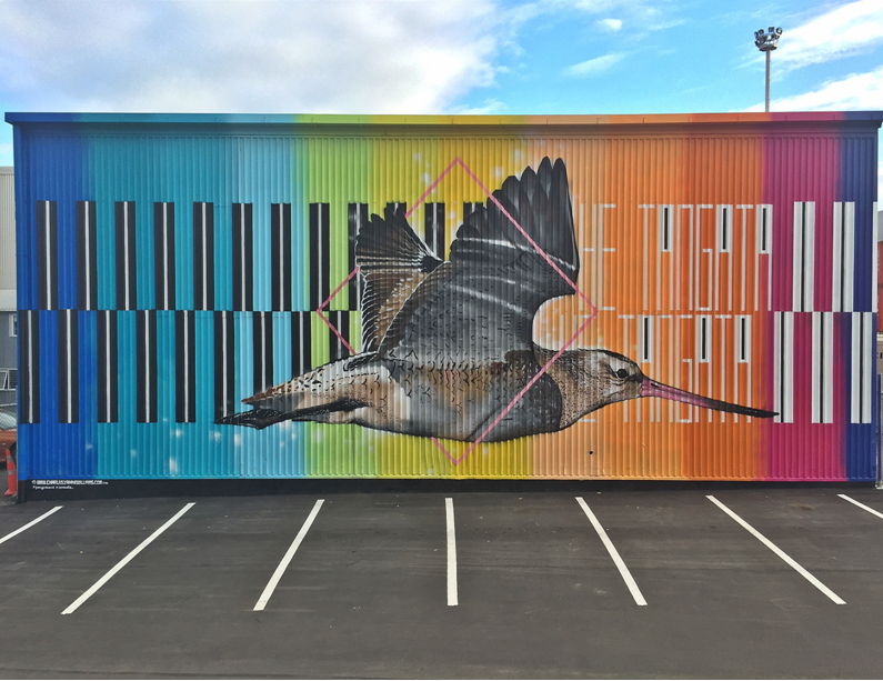 Charles and Janine Williams_Ahuriri, Napier Murals for Oceans