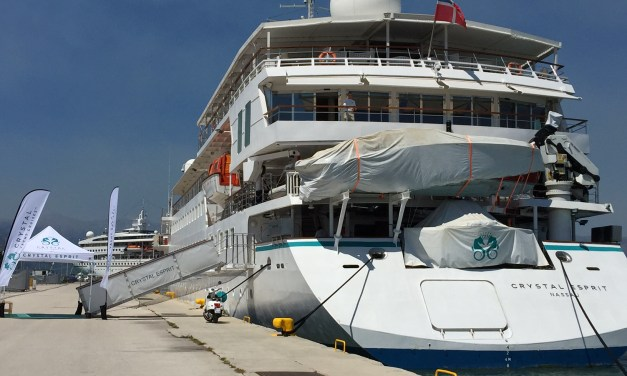 Aboard the One-of-a-Kind Crystal Esprit