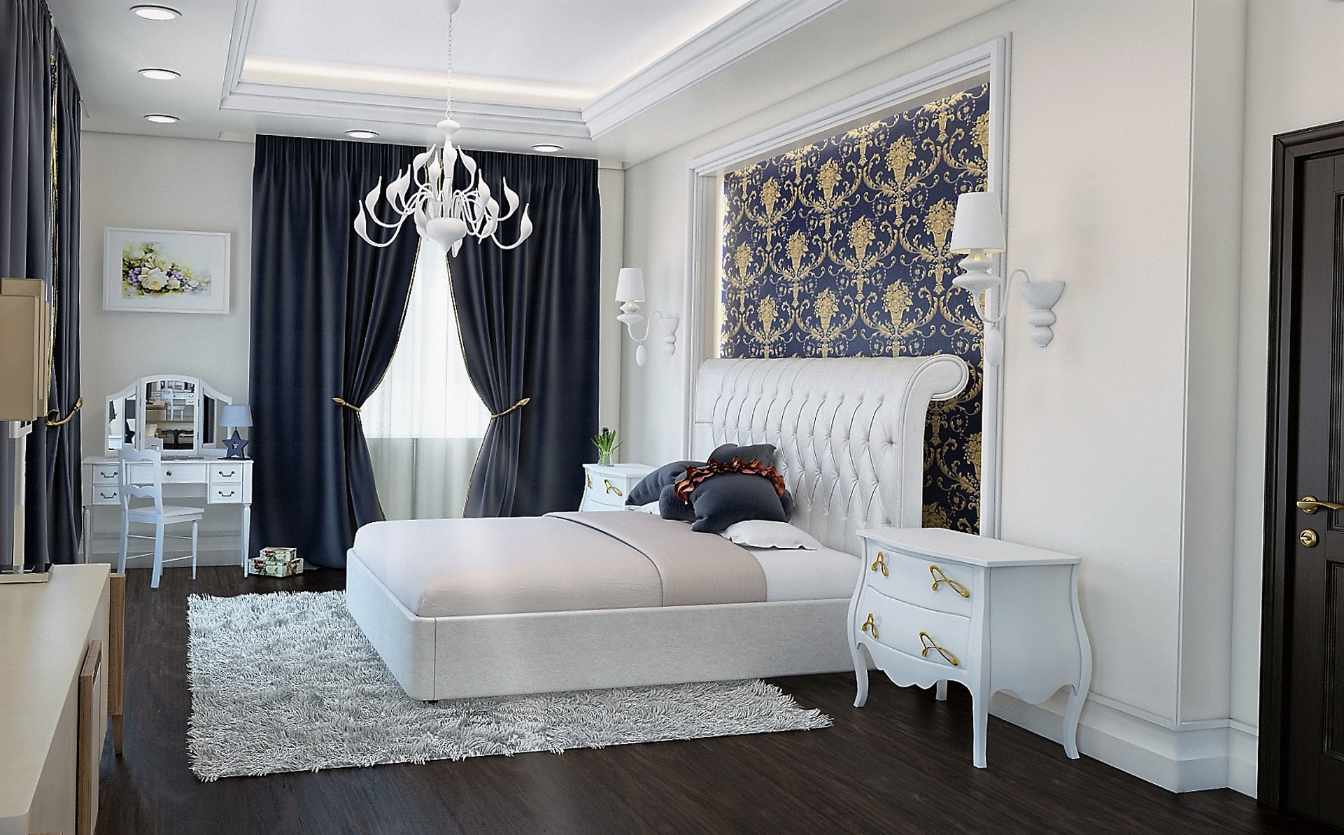 How do the bedrooms of famous people 6