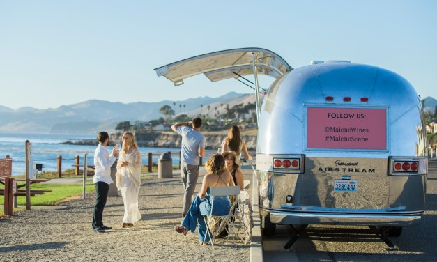 Malene Wines Debuts Mobile Tasting Room in a 1969 Airstream Overlander Trailer