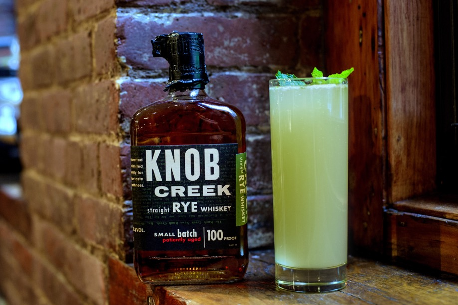 Knob Creek Mint Ginger Old Fashioned Created by Celebrity Chef Michael Symon