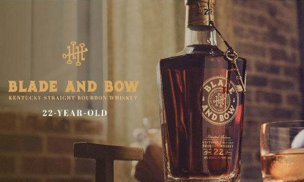 Re-Released Blade and Bow Kentucky Straight Bourbon Whiskey 22-Year-Old