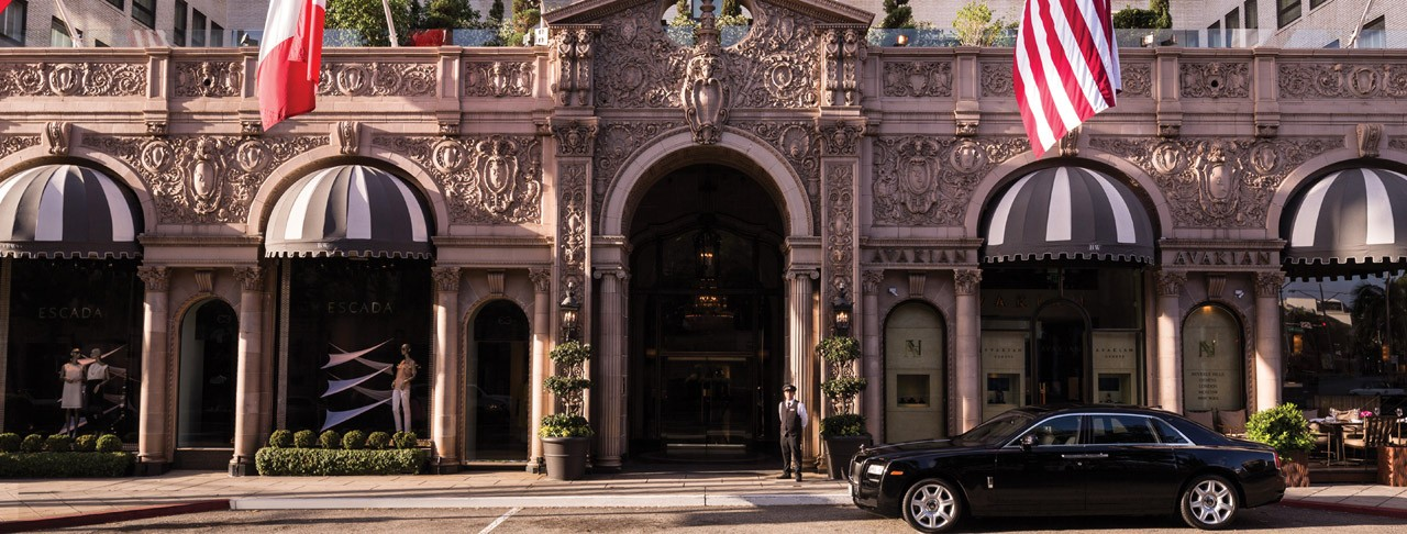 Beverly Hills' Pretty Woman: The Beverly Wilshire Hotel And Spa