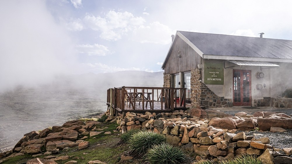 The Highest Pub in Africa at Sani Mountain Lodge