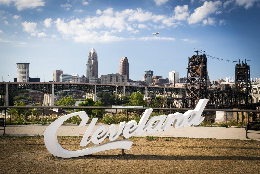 Cleveland sign courtesy of Destination Cleveland