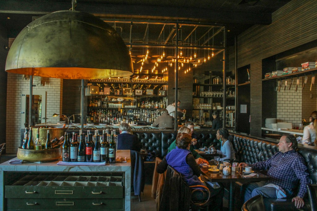 Located within the North Block Hotel is Chef Richard Reddington's casual Italian trattoria option Redd Wood