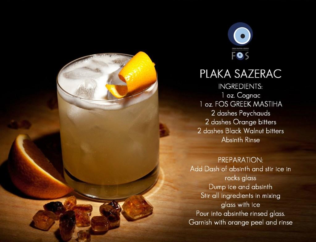 FOS Cocktails - Plaka Sazerac