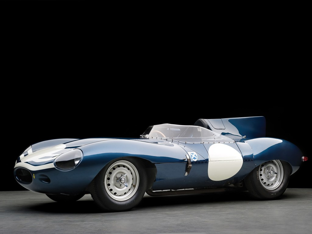 Jaguar D-Type 1955 sothebys most expensive classic cars