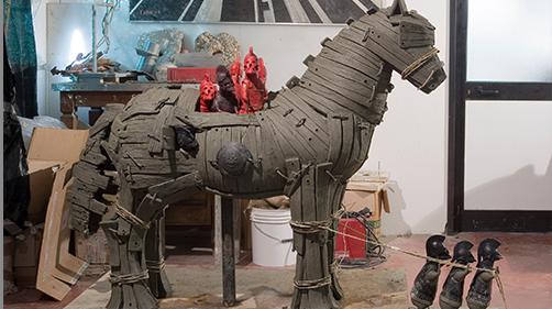Larger-Than-Life Animal Sculpture by Bjørn Okholm Skaarup - $200,000+