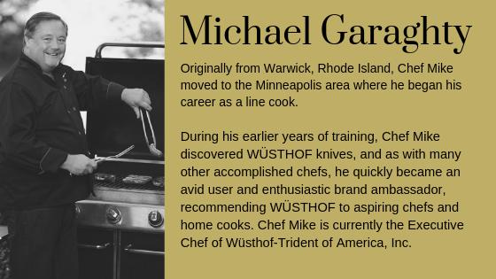 Executive Chef Michael Garaghty