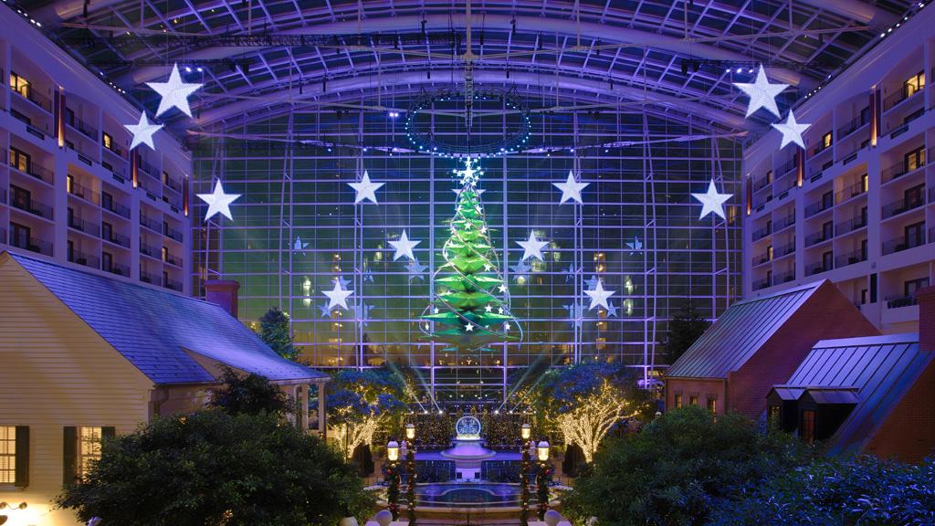 Gaylord National Atrium Christmas Tree