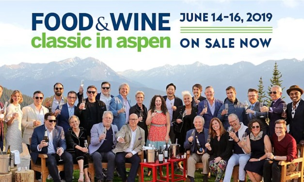 2019 FOOD & WINE Classic in Aspen, June 14 – 16, 2019