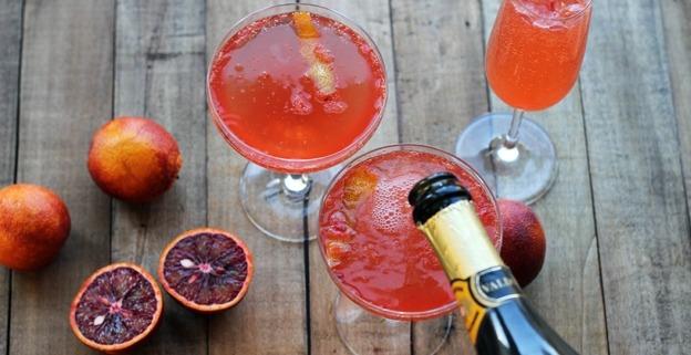 Bobby Flay Blood Orange Derby Cocktail