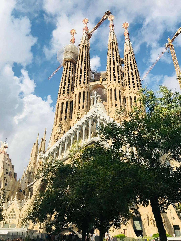 2018 La Sagrada Familia Barcelona