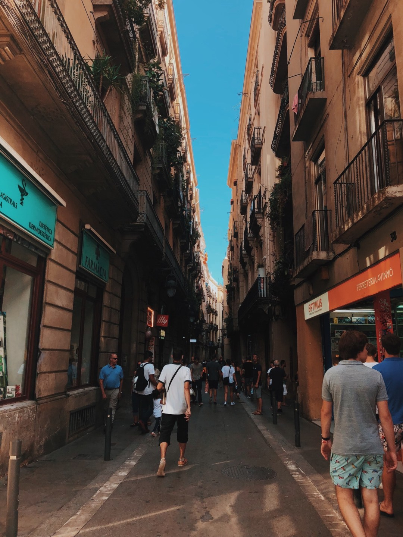 2018 Barcelona Gothic Corners