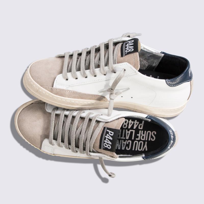 P448 italian fashion sneakers