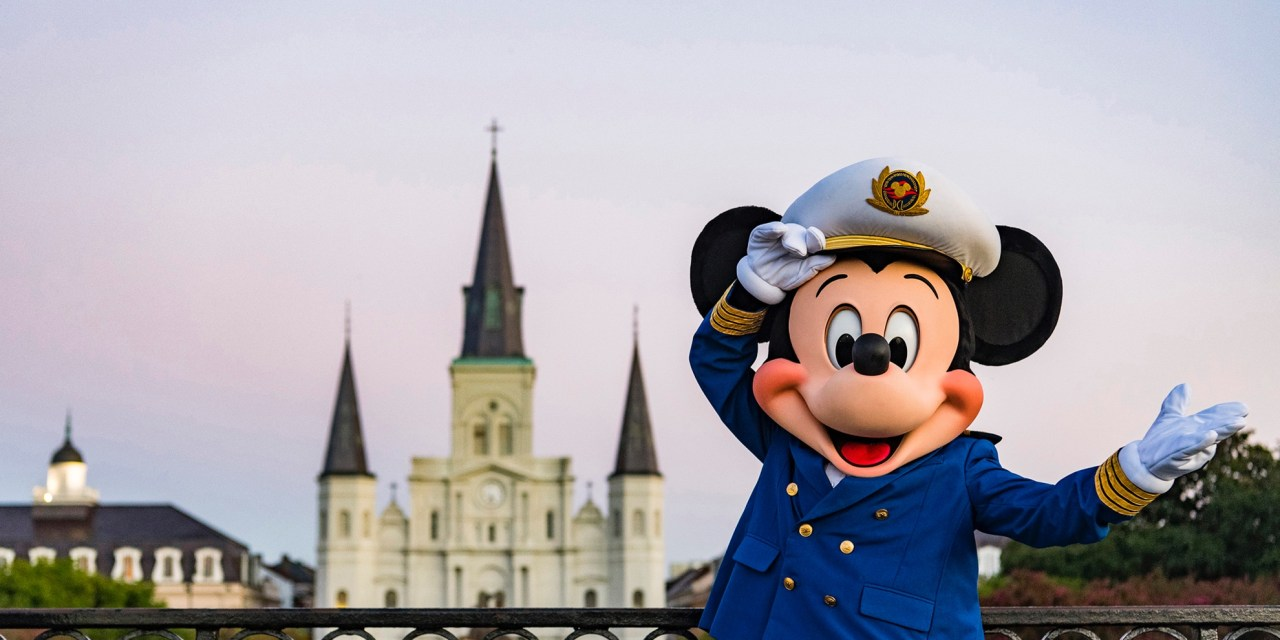 Disney Cruise Line Will Return to New Orleans, Also to Galveston and San Diego