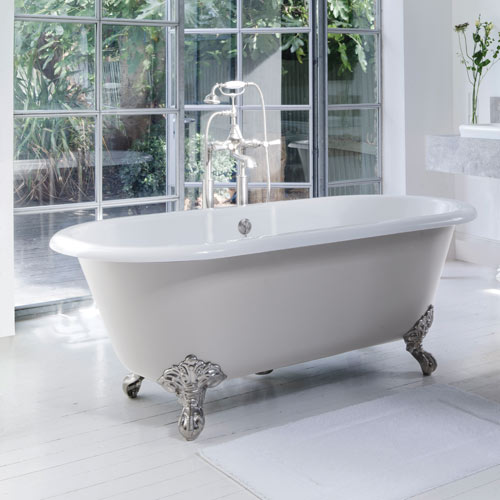 Victoria + Albert Cheshire claw foot bath - distributed in Australia by Luxe by Design, Brisbane.