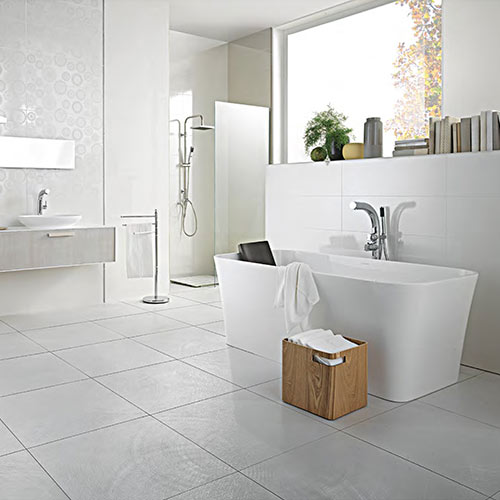 Victoria + Albert Edge stone bath - distributed in Australia by Luxe by design, Brisbane.