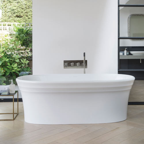 Victoria + Albert Warndon stone bath - distributed in Australia by Luxe by design, Brisbane.