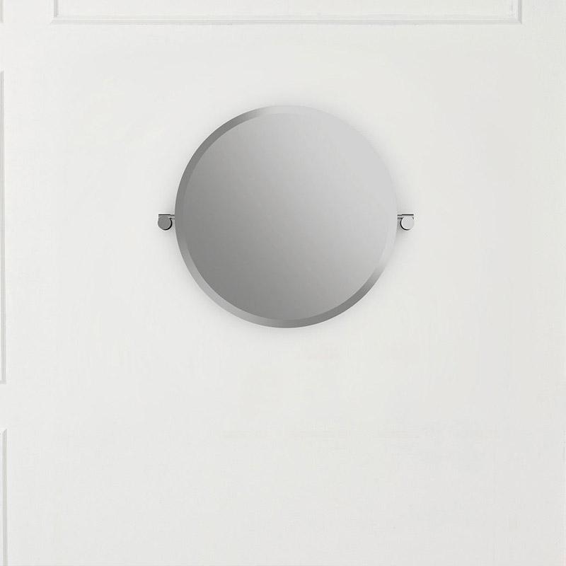 Victoria + Albert Anatolia 55 round mirror. Distributed in Australia by Luxe by Design, Brisbane.