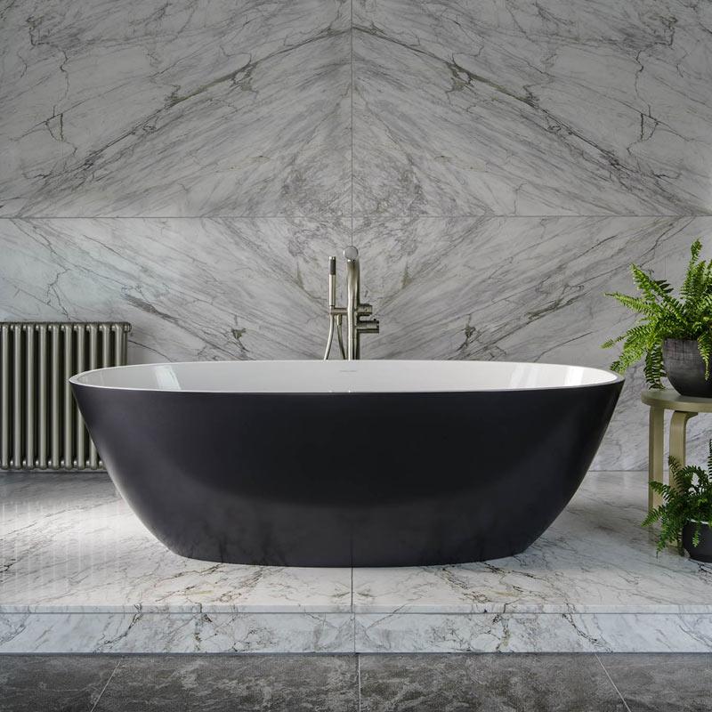 Victoria + Albert Barcelona 2 freestanding modern bath. Distributed in Australia by Luxe by Design, Brisbane.