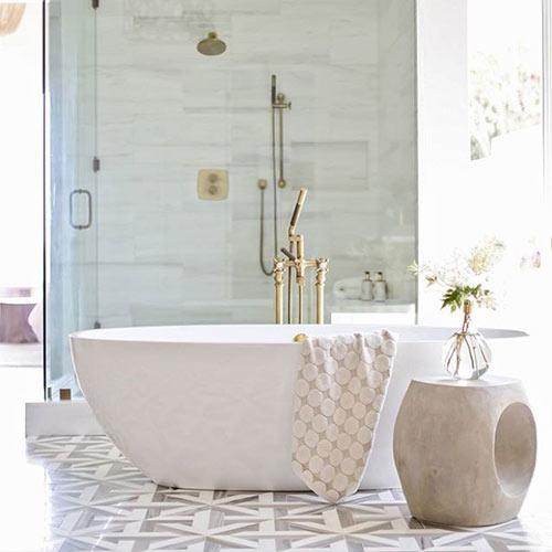 Victoria + Albert stone baths Australia