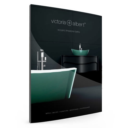 Victoria + Albert baths Australian Catalogue Brochure - 2019. Imported and distributed by Luxe by Design, brisbane.