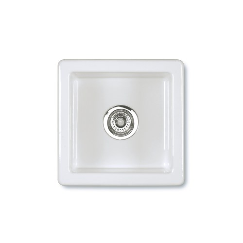 Shaws Belthorn Sink. 380mm inset undermount fireclay butler sink by Shaws of Darwen, England. Imported and distributed in Australia by Luxe by Design, Brisbane.