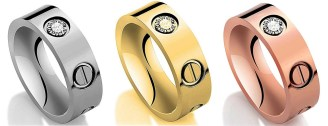 Cartier Love Diamond Rings Dupes - Cartier Dupes