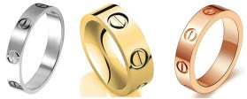 Cartier Love Rings Dupes - Cartier Dupes