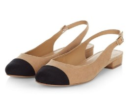 New Look Slingback Shoes Chanel Dupes