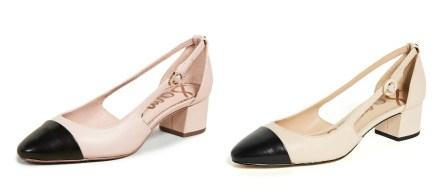 Sam Edelman Slingback Shoes Chanel Dupes
