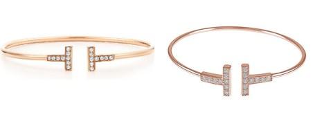 Rose Gold Tiffany T Bracelet & Tiffany T Rose Gold Bracelet Dupes