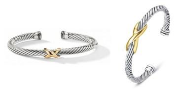 David Yurman X Bracelet Dupes